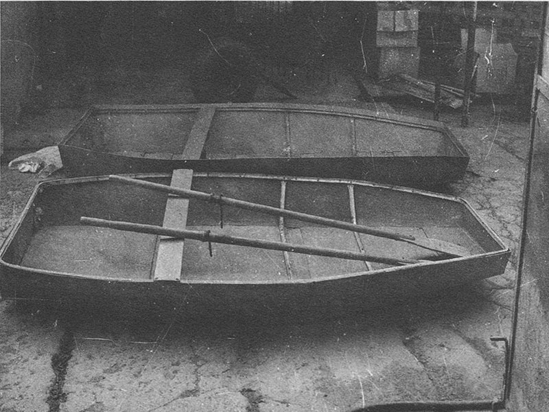 Barca e puntone