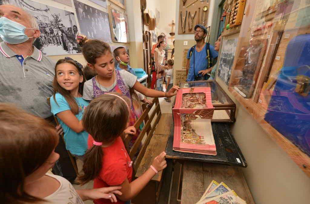 Ecomuseo del Tevere visita al centro di documentazione